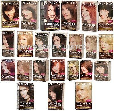 Revlon Permanent Hair Colour Colorsilk