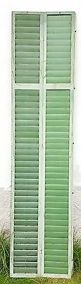 Antique wooden shutters from the early 1800s (from a castle)