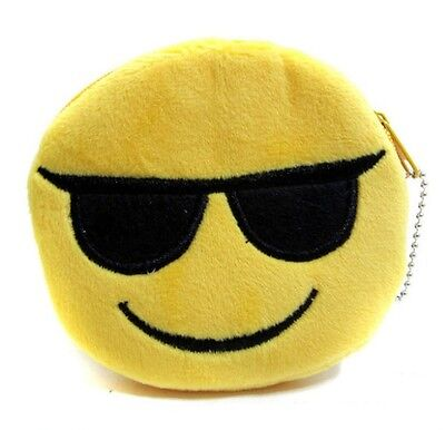 emoji smiley Earphone/Earbuds Wire Storage/Coin Purse - SHIPS FROM USA