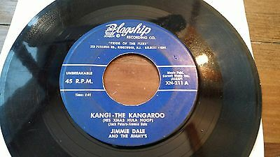 Jimmie Dale and the Jimmy's - obscure rockabilly flagship NJ kangi