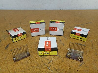 FPE Class 5490 Style F2.8 Overload Thermal Heater Elements New (Lot of 10)