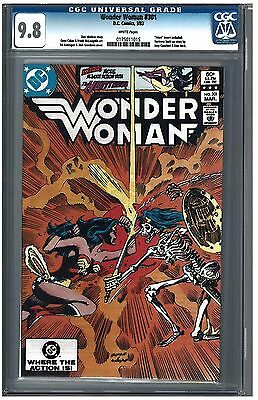 Wonder Woman #301 CGC 9.8 (3/83) DC Comics white pages