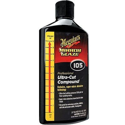 Meguiar's M105 Ultra-Cut Compound - Liquide à Polir Ultra Puissant - 237 ml