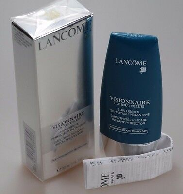 Lancome Visionnaire (1 Minute Blur) 30 ml Smoothing Skincare NEU in FOLIE