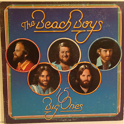 The Beach Boys / 15 Big Ones vinyl LP 1976 gate-fold Ex+ Surf / Rock / Pop