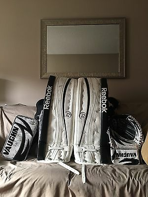 Reebok Goalie Pads & Vaughn Blocker and Catcher