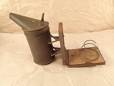 Vintage Bee Hive Smoker Bee Keeping Antique early 1900s