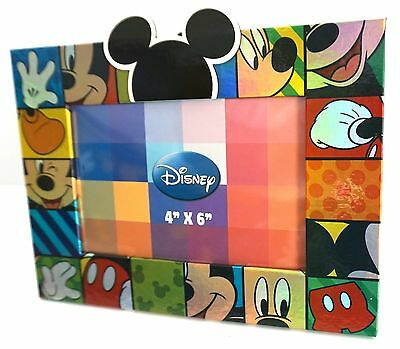 Disney Mickey Mouse Emotions Squares 4x6 Picture Frame