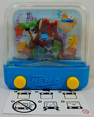 Disney Pixar Finding Nemo Aquarium Water Game By Nestle Made In Liverpool