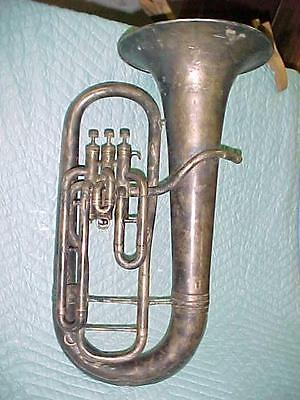 Vintage York & Son Small Baritone Euphonium, Good Playing Condition