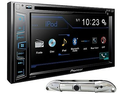 "Pioneer Avh-210Ex 6.2"" Touchscreen Dvd Cd Bluetooth Stereo Free Absolute Cam-800"