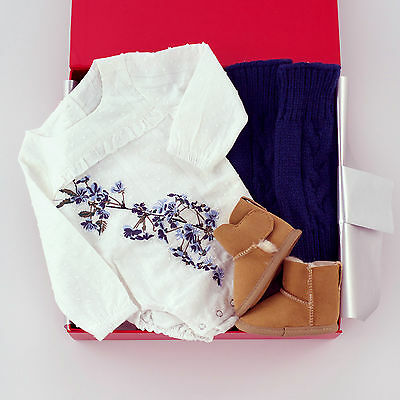 NEW Baby Clothing, Gifts and Accessories Blossom Baby Hamper - Off White