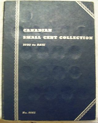 Canada Small Cent Collection In Whitman Book 42 Coins 1920 To 1959+