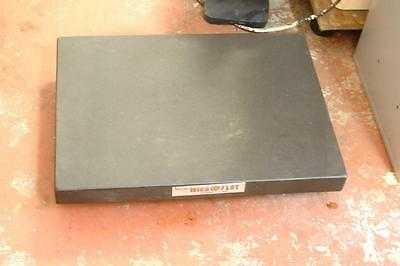 "Collins Microflat Granite Plate Surface Table w/ Ledge 18"" x 24"" x 4"" Grade A"