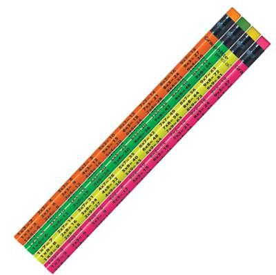 New Teachers School #P526 / #P527 Times Tables Lead Pencils