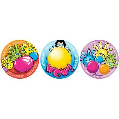 New Teachers School #948 Bubble Gum Scratch n Sniff Smelly Stickers
