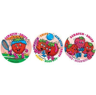 New Teachers School #953 Strawberry Scratch n Sniff Smelly Stickers