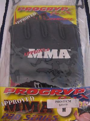 MMA PROGRYP BOX Pro Series MIXED MARTIAL ARTS Gloves PREMIUM LEATHER  WRIST WRAP