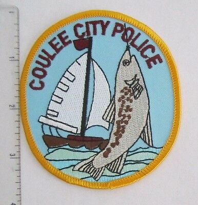 WASHINGTON POLICE PATCH  COULEE City  Police