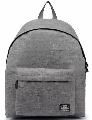 KAUKKO Laptop Canvas Backpack Travel Hiking School Bag Satchel Travel Backpacks