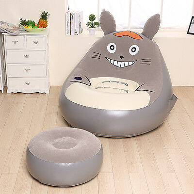 *NEW* Inflatable Totoro Chair/Sofa with Ottoman