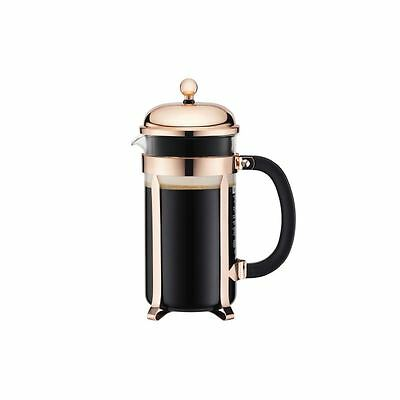 Bodum Chambord Copper Coffee Press Maker 8 Cup - 1.0 L, 34 Oz