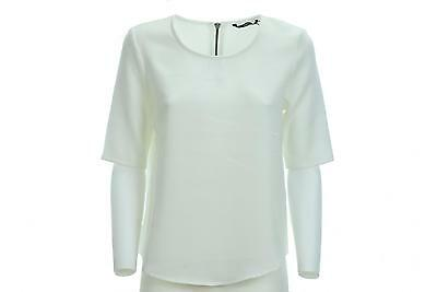 ONLY donna top manica 3/4 15131375 BIANCO P17