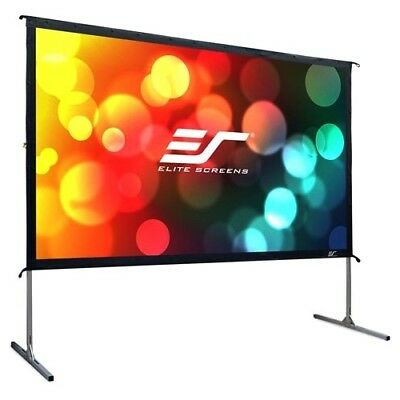 NEW Elitescreens OMS100HR2 Yard Master 2 Projection Screen YdMstr 10in Diag 16:9