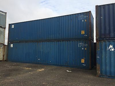 40ft High Cube Shipping Container- Houston