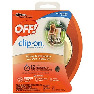 OFF! Clip-On Fan Circulated Mosquito Repellent NEW!!