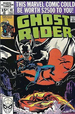 Ghost Rider (Vol 1) #  48 Fine (FN) Price VARIANT Marvel Comics BRONZE AGE
