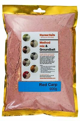 Red carp method mix & ground bait for carp and coarse fishing.