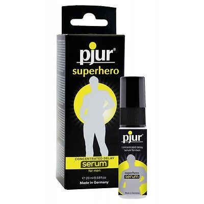 Superhero Concentrated Delay Serum stimolante Feromoni aumento libido uomo donn