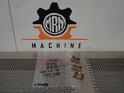 FPE Federal Pacific 5490 Style F3.15 Overload Heater Elements New (Lot of 3)