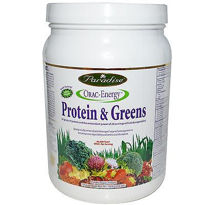 ORAC-Energy Protein & Greens - 454g by Paradise Herbs - Antioxidant Supergreen