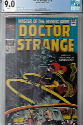 DOCTOR STRANGE  #175 (Dec 1968)  CGC 9.0 (VF/NM) WP *R.THOMAS, G.COLAN, T.PALMER