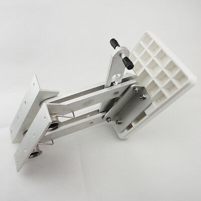 Aluminum Outboard  Mount Motor Bracket Trolling Dingy White Auxiliary CA Stock