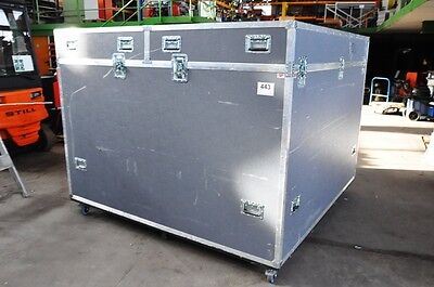 Transport-Case, Flightcase, Marke Mountaine-Case, lxblxh (ca. 202x202x147 cm)