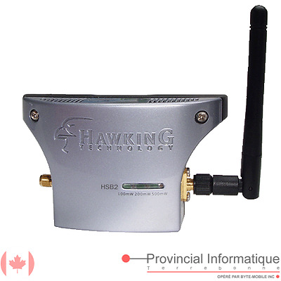Adjustable Wifi Signal Booster 802.11b/g Hawking Technologie HSB2 Active Antenna