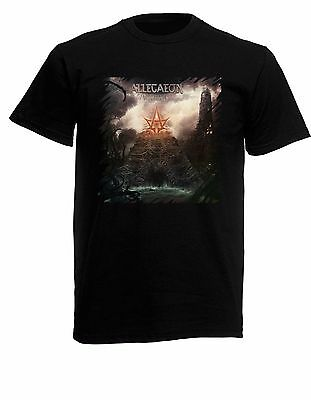 Allegaeon Proponent for Sentience Black New T-Shirt Fruit of the Loom ALL SIZES