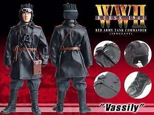 Vassily - WWII Red Army Tank Commander 1:6 Action Figure DRAGON MODELS