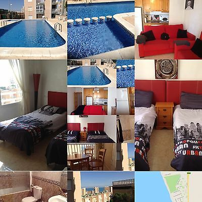 Torrevieja COSTA BLANCA Spain 1bed Apartment 5 mins beach Holiday sleeps 4 pool