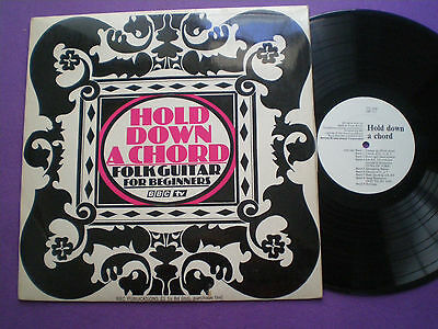 JOHN PEARSE Hold Down A Chord - Folk Guitar For Beginners UK LP BBC TV