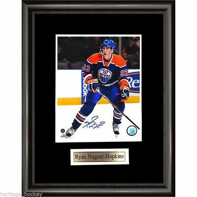 Ryan Nugent-Hopkins Signed Edmonton Oilers Framed Photo