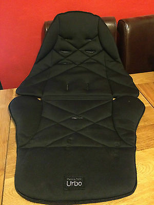Mamas & Papas URBO will also fit SOLA/GLIDE/ZOOM**SEAT COVER* BLACK ref 8