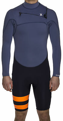 Hurley Fusion 202 Long Sleeve Spring Wetsuit Mens Unisex Surfing Watersports