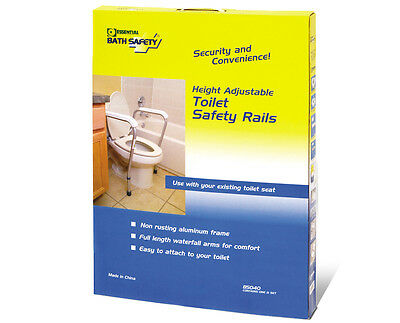 Toilet Seat Safety Rail