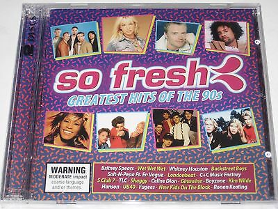 SO FRESH greatest hits of the 90s 2 disc cd NEW/SEALED