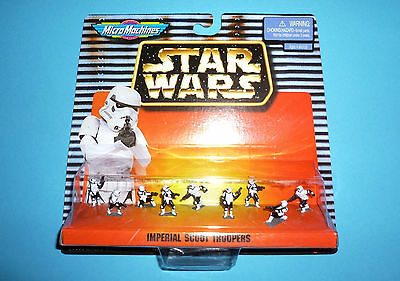 STAR WARS Micro Machines - IMPERIAL SCOUT TROOPERS - 1997 NEU NEW 66080
