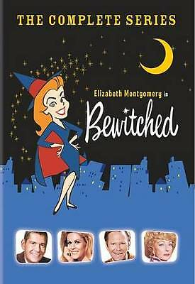 Bewitched - With Elizabeth Montgomery 33 DVD All 8 Season Complete Series New